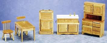 dollhouse kitchen furniture oak dollhouse kitchen furniture