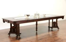 Walnut Dining Room by Sold Victorian Eastlake 1885 Walnut Dining Table 6 Leaves