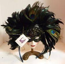 porcelain mardi gras masks clay porcelain decorative masks ebay