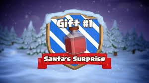 santa u0027s surprise christmas gift clash of clans christmas latest
