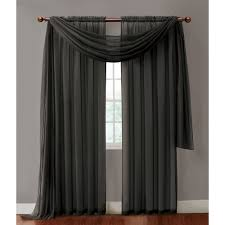 Walmart Sheer Curtain Panels Maison Reversible Sheer Curtain Panel Walmart