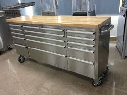 stainless steel workbench cabinets 72 tool master chest stainless steel work bench tool storage buy