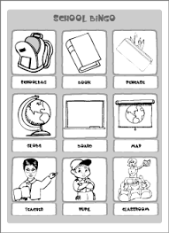 vocabulary for kids learning english printable resources