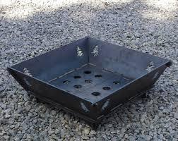Steel Firepit 22x22 Modular Pit 25 Steel Plate No Muebles Pinterest