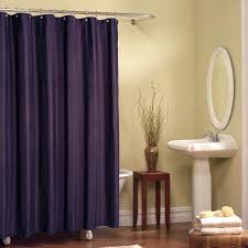 Brown Ruffle Shower Curtain by Exciting Dark Purple Shower Curtain With Additional Home