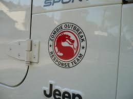 zombie response jeep product jeep rubicon zombie outbreak response team wrangler