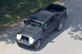 first jeep jeep wrangler pickup spotted for the first time motor trend
