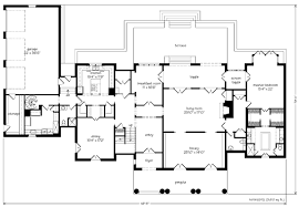 architect floor plans montpellier ken tate architect southern living house plans