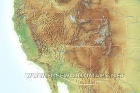 Us Maps Free Printable Maps Of The Southwestern Us Southwest Us Regional