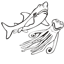 shark coloring pages 2 coloring kids clip art library