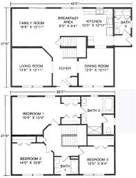 two story floor plan zspmed of two story floor plans