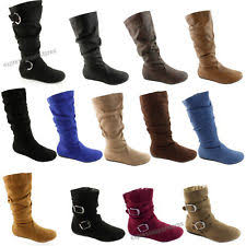 womens size 12 slouch boots suede slouch boots ebay