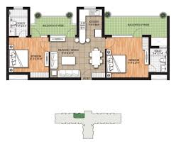 floor plan raheja developers limited raheja oma at nh 8