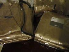 Pennys Drapes J C Penney Solid Pattern Lined Curtains Ebay