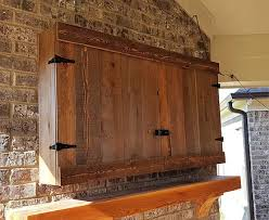 outdoor tv cabinet enclosure d k woodworks custom outdoor tv cabinets