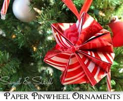 paper pinwheel ornaments featuring from sand sisal handmade