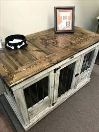 Dog Crate Furniture Bench Side Table Dog Kennel Side Table Plans Side Table Dog Crate