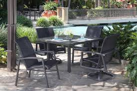 mallin patio furniture scarsdale sling collection alkar