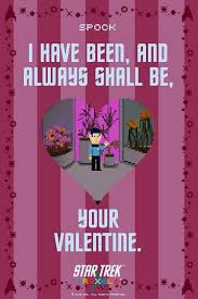 trek valentines day cards 1662 best tv related valentines images on