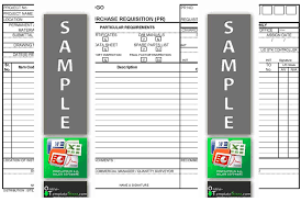 supply order template