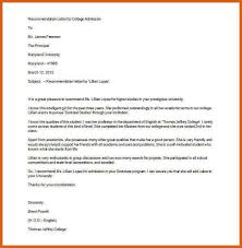 college reference letter apa examples