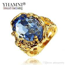 big crystal rings images 2018 yhamni new unique gold color crystal engagement ring with big jpg