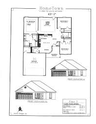 House Specs Home Town Subdivision House Plan Index