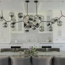 white and gray mosaic dining room backsplash tiles design ideas