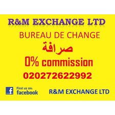 bureau de change commission r m exchange ltd bureaux de change foreign exchange yell