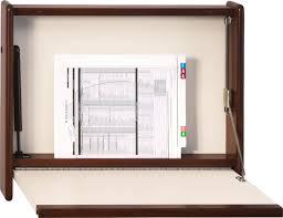 4800d express desk fold down wall desk with self closing door