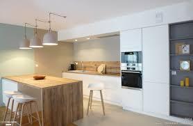 plan de travail separation cuisine sejour un appartement au mobilier signé et sur mesure lyon skéa