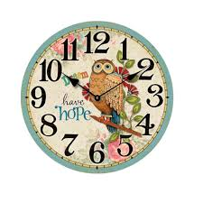 compare prices on wooden wall clock round online shopping buy low