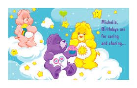 special collections care bears printable birthday cards american
