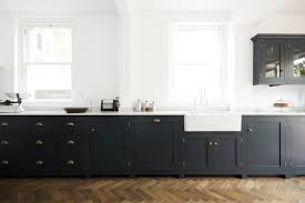 ikea handles cabinets kitchen pantry blue devol kitchen with u0027bella brass u0027 cup handles and knobs