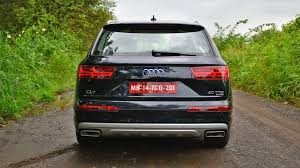 audi minivan audi q7 2017 price mileage reviews specification gallery