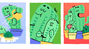 father u0027s day 2017 google doodle brings back the cactus family from
