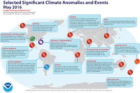 Europe Temperature Map by Global Climate Report May 2016 State Of The Climate National
