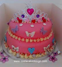 girls birthday cakes by costa cake design