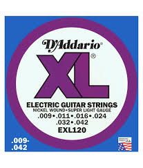 D Addario Electric Guitar Strings Rock City Studios