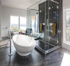 modern bath design by astro design centre in ottawa bathroom