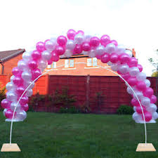 balloon arch balloon arch frame 12ft to 14ft wide no tent poles bolts together