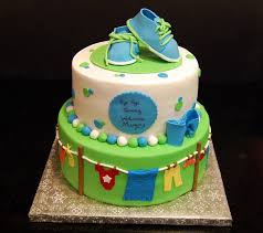 baby shower clothesline clothesline themed baby shower cake s cakes