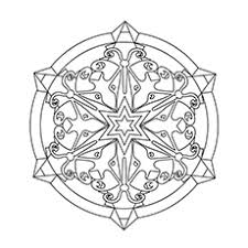 snowflake coloring pages 13566