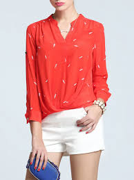 printed blouse casual printed blouse stylewe com