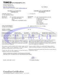 Certification Approval Letter Radios