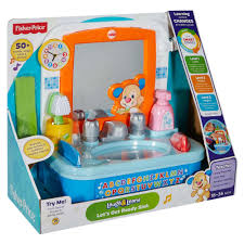 fisher price let s get ready sink fisher price laugh learn let s get ready sink walmart com