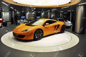 custom mclaren mp4 12c london uk november 07 2011 a mclaren mp4 12c on display
