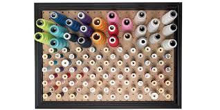 peg board tutorial pegboard thread organizer sewing
