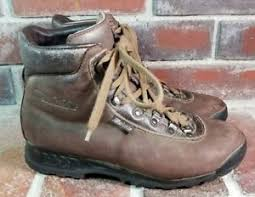 womens boots vibram sole raichle s size 7 5 brown leather vibram sole cing hiking