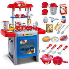 jouet enfant cuisine enfant cuisine jouet bleu achat vente dinette cuisine cdiscount